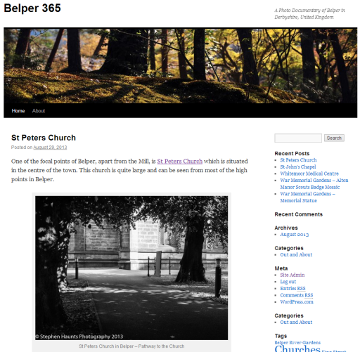 Belper365 : A Photo Documentary of the Town Belper