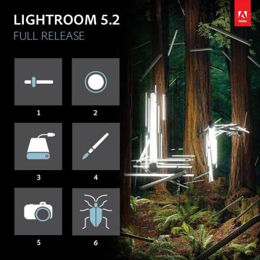 Lightroom 5.2 Update